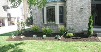 Landscaping toledo landscape design installation for Small trees for flower beds