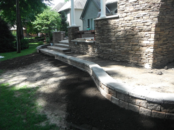 Stone & Brick Retaining Walls <br/><br/>